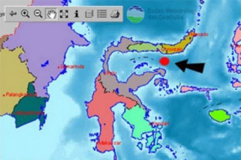 Gempa 5,2 SR landa Gorontalo tak berpotensi tsunami