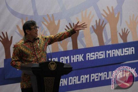 Kabupaten/kota peduli HAM meningkat selama pemerintahan Jokowi