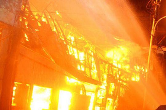 Kebakaran di Batam tewaskan enam orang