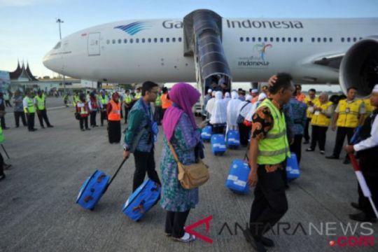 Kloter pertama jamaah haji embarkasi Padang