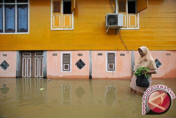 Debit Air Sungai Batanghari Meningkat Warga Diminta Waspada