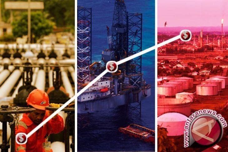 Harga minyak dunia naik untuk sesi ketiga berturut