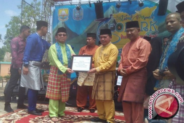 Festival Geopark Merangin Jambi dibuka
