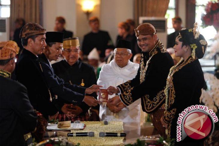 Antara turut berbahagia atas pernikahan putri Presiden