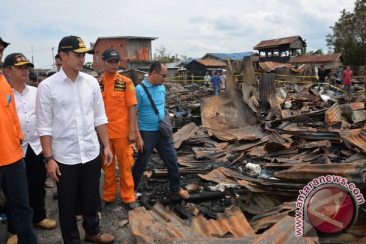Gubernur Ajukan Bantuan ke Pusat Untuk Korban Kebakaran