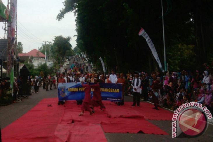 Karnaval Angsoduo Kota Jambi Tampilkan Keberagaman Etnik