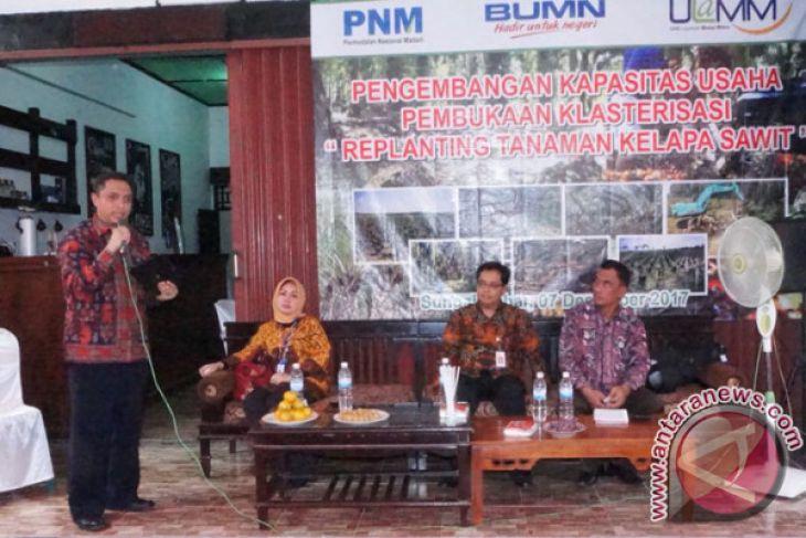 PNM Jambi Bentuk Klasterisasi Petani Sawit