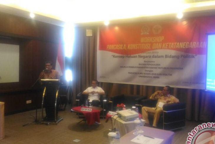 Unja Gelar Workshop Berkonsep GBHN