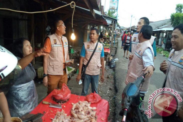 Tim Satgas Pangan Jambi sidak dua pasar