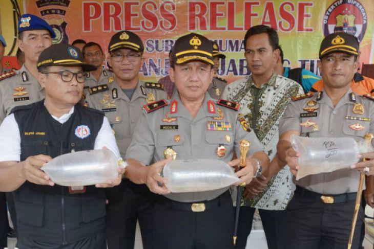 Polisi-BKIPM Jambi amankan 26 pelaku penyelundupan benih lobster