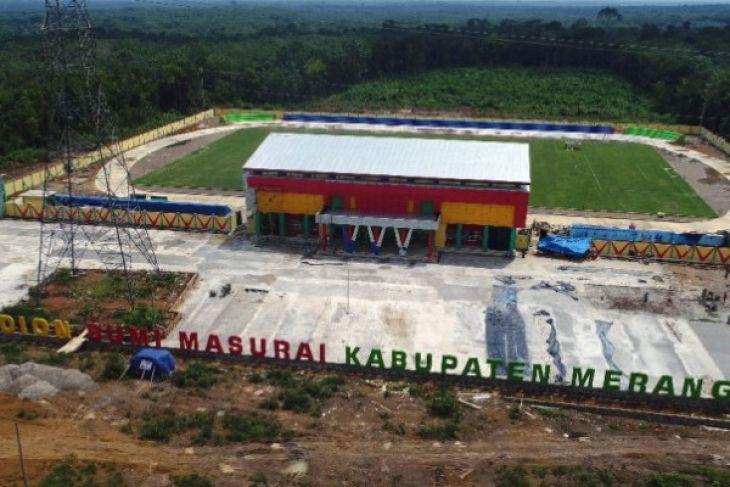 Stadion Bumi Masurai diresmikan Rabu