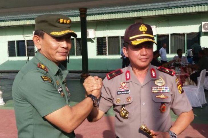 Danrem : TNI-Polri sinergitas lahir batin