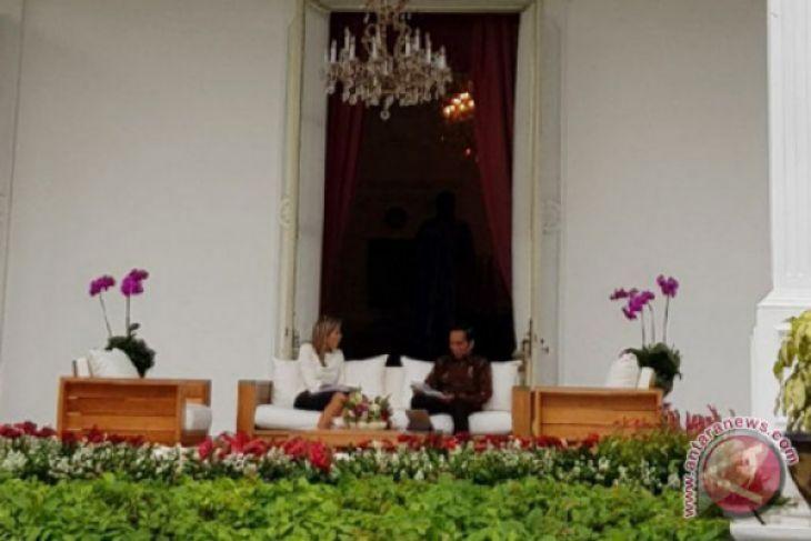 Presiden terima Ratu Belanda pembawa misi PBB