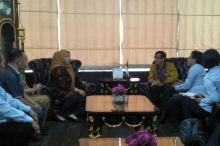 Bupati Masnah temui Menkum HAM bahas  pembangunan lapas perempuan