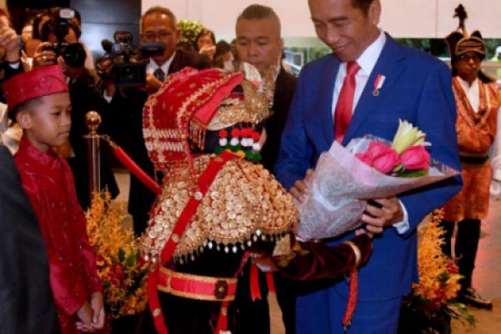 Jokowi dijamu makan malam oleh PM Singapura