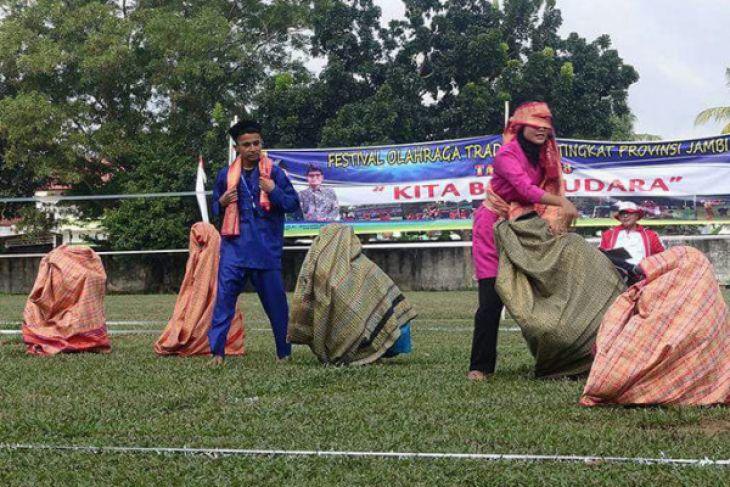 Jambi tuan rumah Festival Olahraga Tradisional tingkat nasional