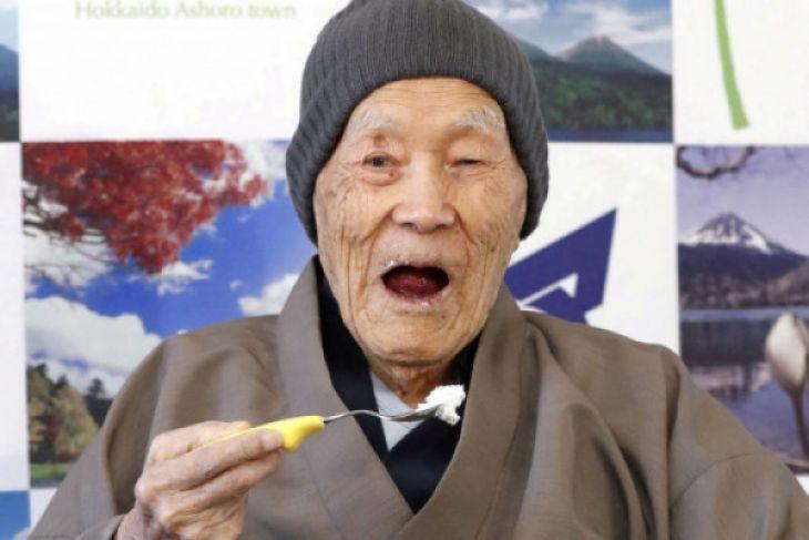 Rahasia umur panjang pria tertua di dunia dari Jepang