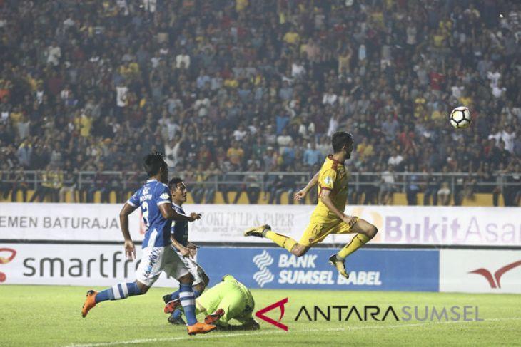 Sriwijaya kalahkan Persib 3-1