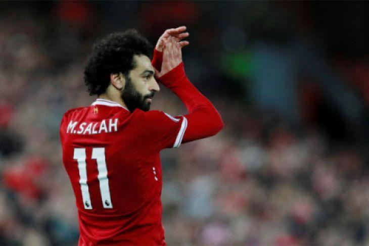 Mohamed Salah pecahkan rekor gol terbanyak Liga Inggris