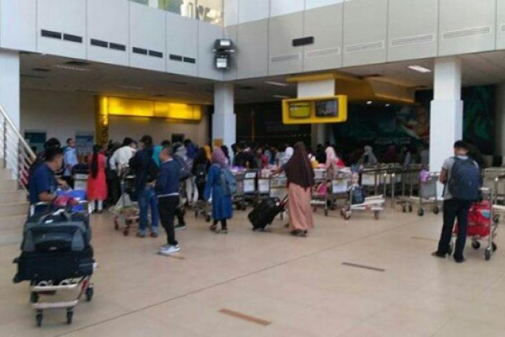 Penumpang di Bandara Jambi mencapai 17.325 orang