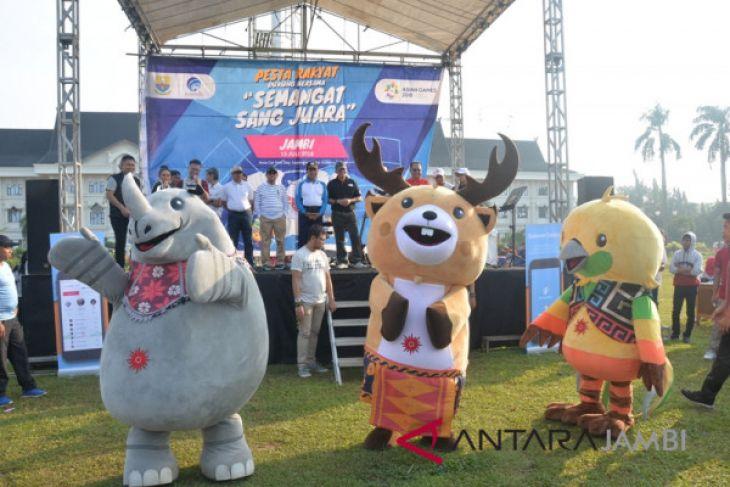 Pemprov Jambi gelar pesta rakyat semarakan Asian Games