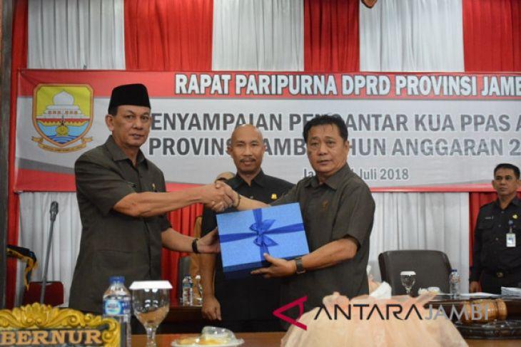 DPRD gelar paripurna penyampaian nota pengantar KUA-PPAS 2019