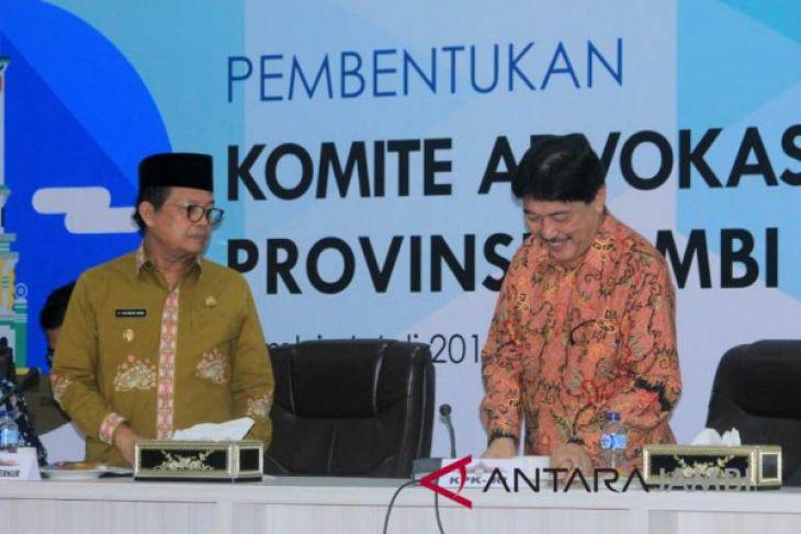Jambi bentuk komite advokasi daerah anti korupsi