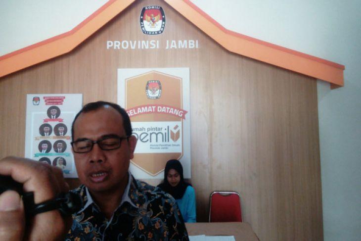 KPU: 10 orang daftar calon DPD dapil Jambi