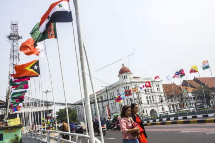Pengamanan Asian Games berstandar internasional