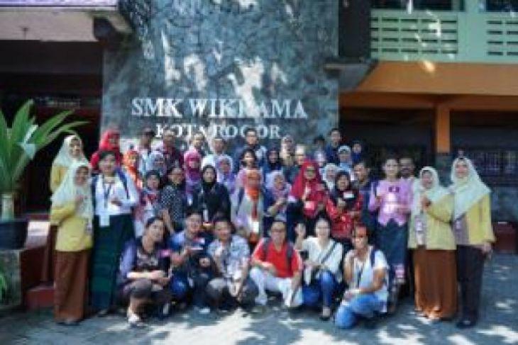 Delegasi pendidik ASEAN kunjungi SMK Wikrama Bogor