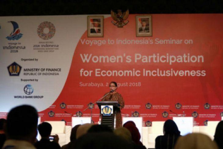 Perkuat peran perempuan untuk ekonomi lebih inklusif
