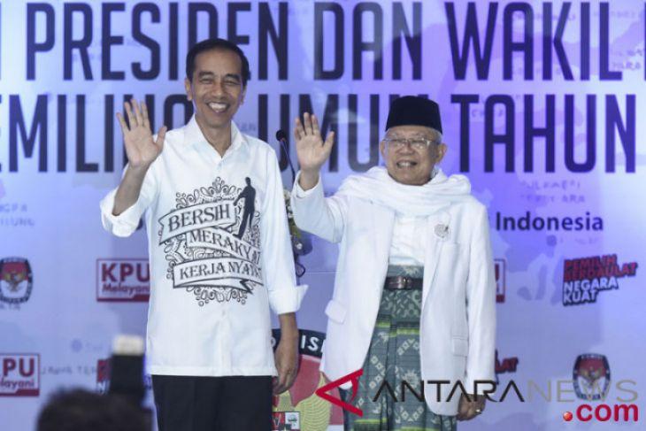 JK: pasangan Jokowi-Ma'ruf bisa saling melengkapi