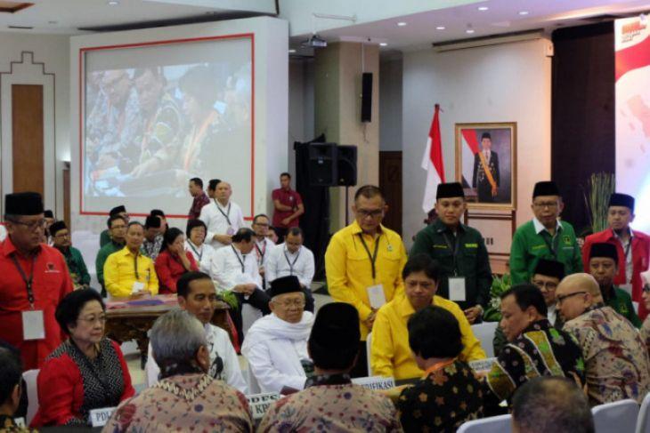 Berkas pendaftaran Jokowi-Ma'ruf dinyatakan lengkap