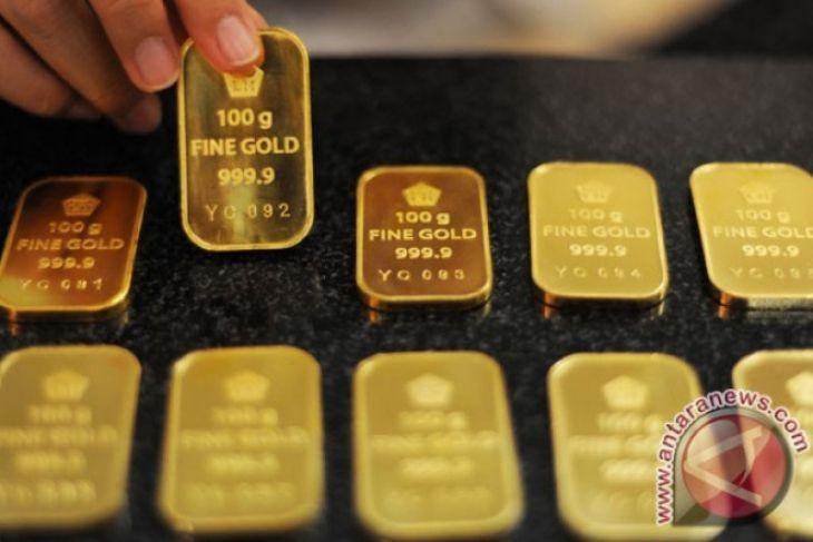 Ketegangan perdagangan AS tahan kenaikan harga emas
