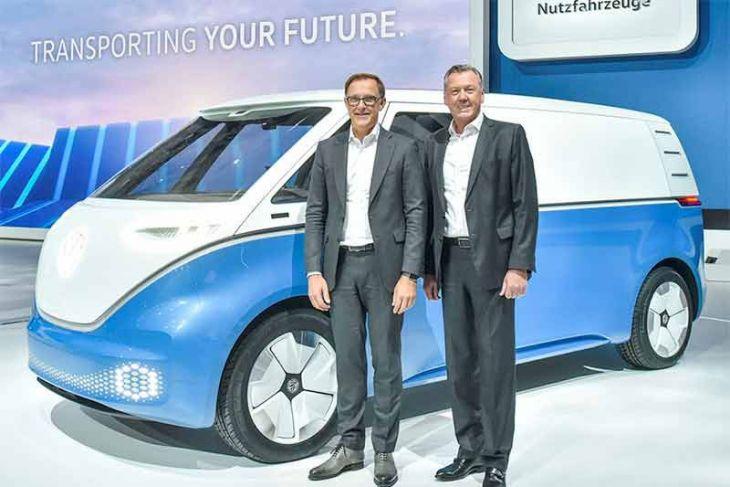 VW kenalkan Buzz Cargo, minibus listrik canggih untuk bisnis