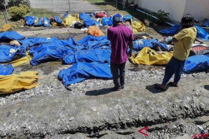Jambi gelar sholat ghaib untuk korban gempa Donggala-Palu