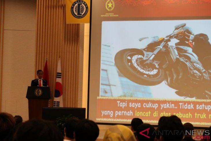 Presiden Jokowi berikan kuliah umum di Universitas Hankuk