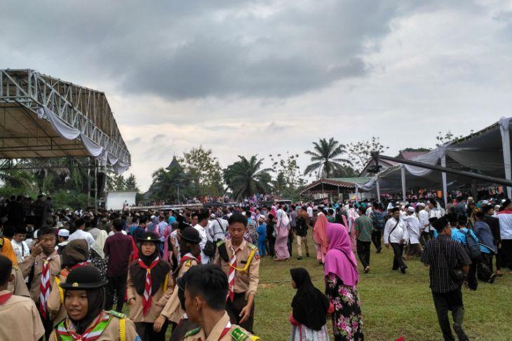 Ribuan warga Batanghari hadiri tausiah Ustad Abdul Somad