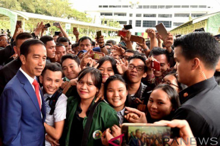Presiden ingin semangat wirausaha mahasiswa bangkit