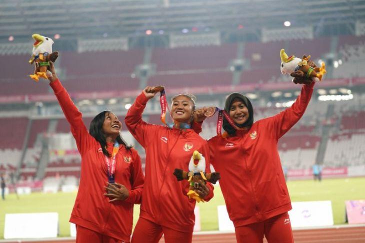 Klasemen perolehan medali Asian Para Games, Kamis (11/11)