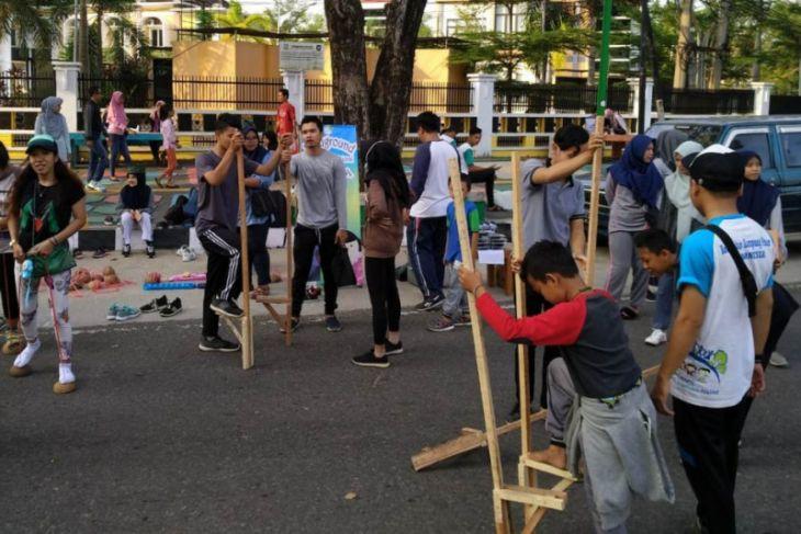 Kokapi Jambi gelar gerakan edukatif melalui permainan tradisional