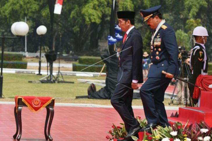 Panglima TNI: MEF 2019 capai 72 persen