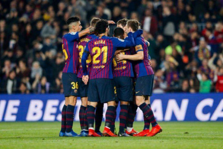 Hasil Piala Raja, Barcelona juga melaju mudah ke 16 besar