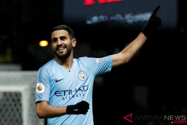 Manchester City bawa pulang tiga poin penuh dari markas Watford