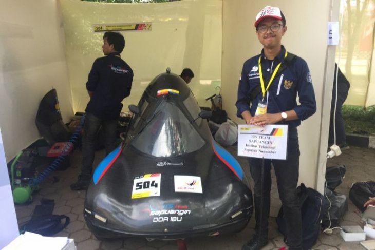 Tim Sapuangin ITS juarai mobil hemat energi