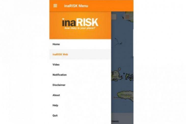 BNPB terus sosialisasikan aplikasi kebencanaan InaRISK Personal