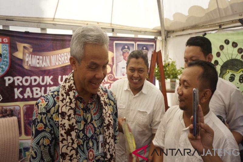Gubernur Ganjar dorong daerah tonjolkan potensi produk