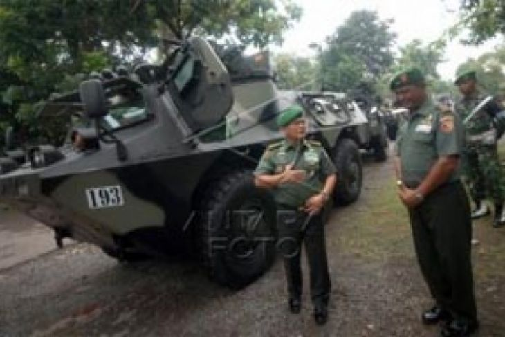 TNI AD Siapkan Tiga Batalyon Mekanik di Jatim