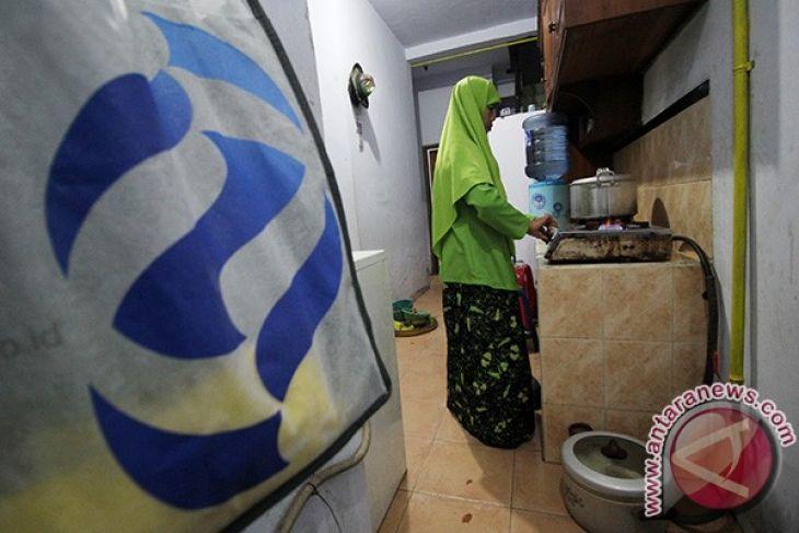 Ribuan Rumah Tangga Mojokerto Dialiri Gas Awal 2018