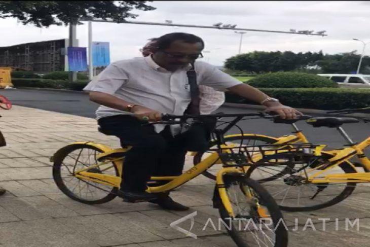 DPRD Inginkan Ada Persewaan Sepeda Berbasis Aplikasi di Surabaya (Video)